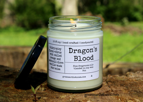 Dragons Blood  8oz Soy Candle