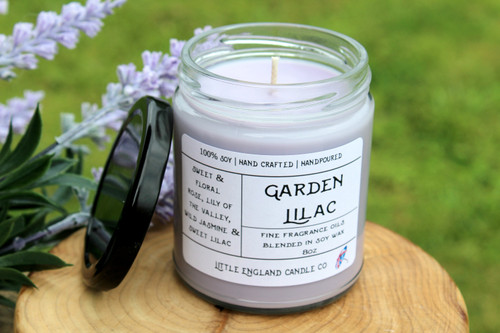 Garden Lilac 8oz Soy Candle