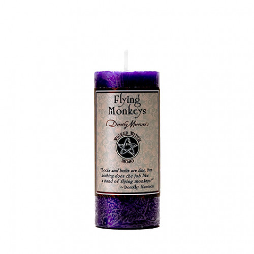 Dorothy Morrison FLYING MONKEYS  Wicked Witch Mojo Candle