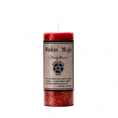 Dorothy Morrison WISHIN' MOJO  Wicked Witch Mojo Candle