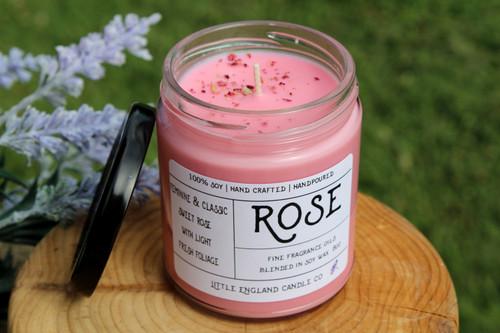 Rose 8oz Soy Candle