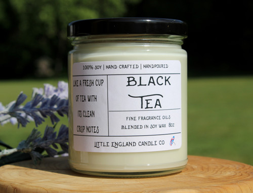 Black Tea 8oz Soy Candle
