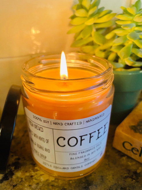 Coffee 8oz Soy Candle
