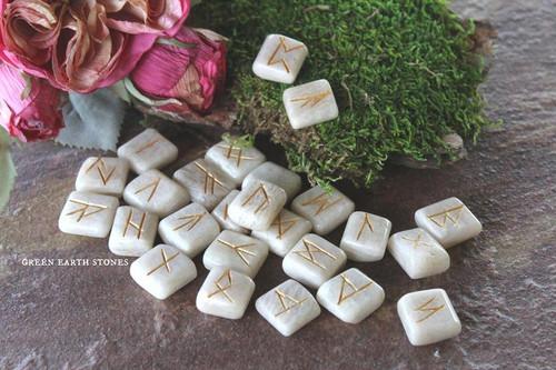 Moonstone  Rune Stones