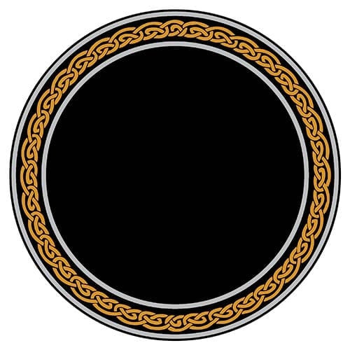 Scrying Mirror Celtic Knots