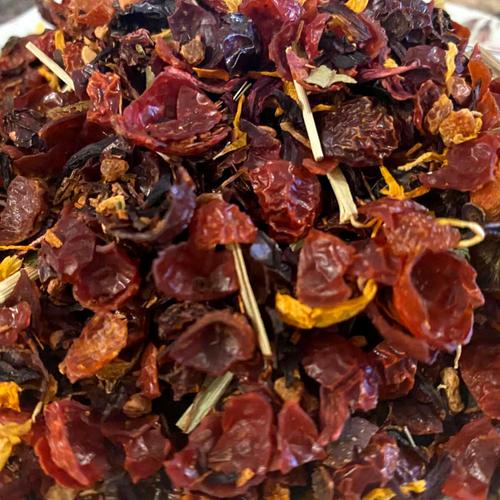 Rosehips and Hibiscus Tea