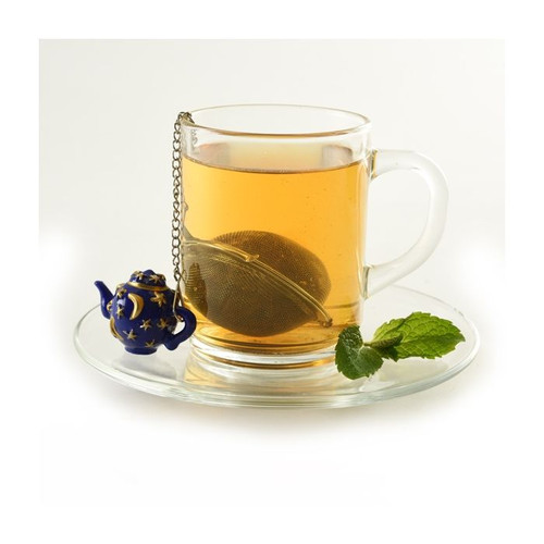 Tea Pot Blue Tea Infuser