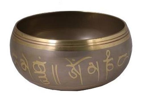 Tibetan Singing Bowl Hamsa Hand