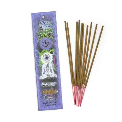 Third Eye Chakra Ajna Incense - Concentration and Intuition