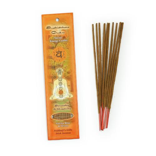 Sacral Chakra Incense - Sensuality & Creativity