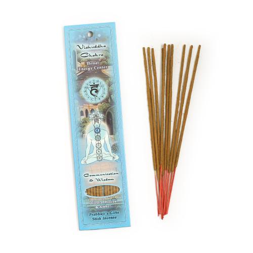 Throat Chakra Incense - Communication & Wisdom