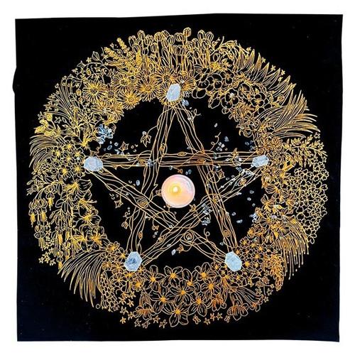 Pentagram Altar Cloth