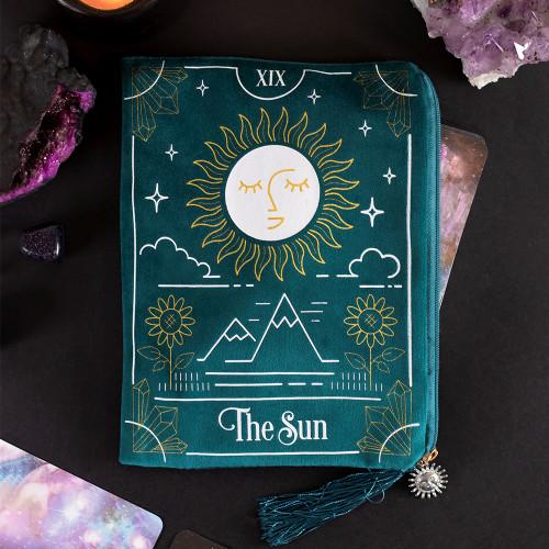 Zippered Tarot Bag THE SUN