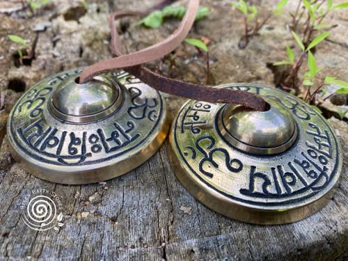 Tibetan Brass Cymbals