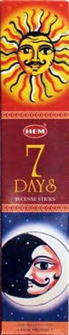 Hem 7 Days Incense Sticks