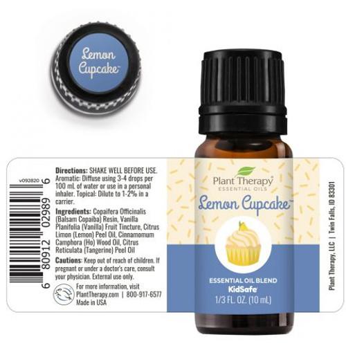 Lemon Cupcake Essential Oil Blend