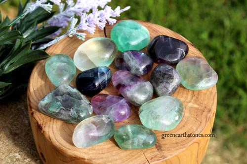 Fluorite Tumbled Stone L/XL