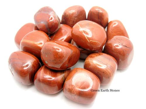 Red Jasper Tumbled Stone