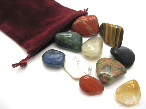 Beginner's Crystal Kit with Pouch