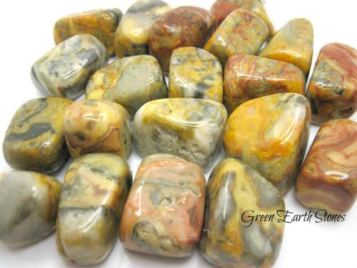 Agate, Crazy Lace Tumble Stone