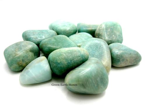 Amazonite Tumbled Stone L
