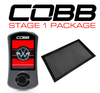 Cobb Stage 1 Power Package W/ DSG For Volkswagen GTI (MK7/MK7.5), Jetta (A7) GLI - VLK0020010-DSG