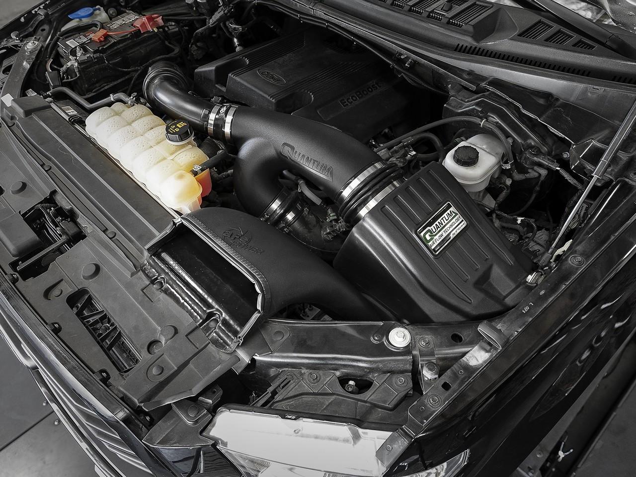 Afe 53 10008d Quantum Pro Dry S Cold Air Intake System For 15 18 Ford F150 Ecoboost V6 35l27l