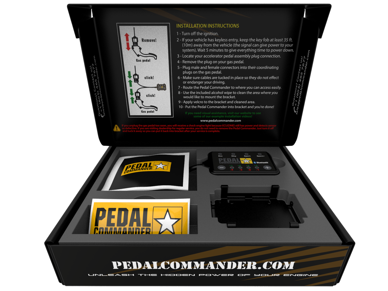 Pedal Commander PC65 Bluetooth For 2007-2018 GMC Sierra 1500 Trucks