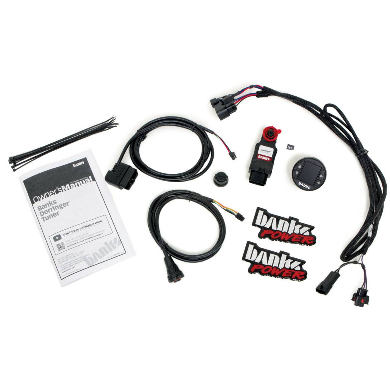 "Banks Power Derringer Tuner W/ 1.8"" iDash DataMonster For 11-19 Ford Power Stroke 6.7L - 66795"
