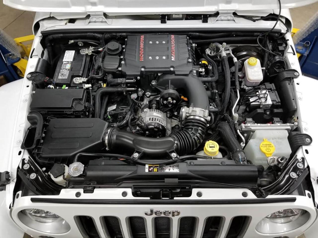 Magnuson TVS1900 Supercharger Kit For 12-18 Jeep Wrangler JK - 01-19-36-000-BL