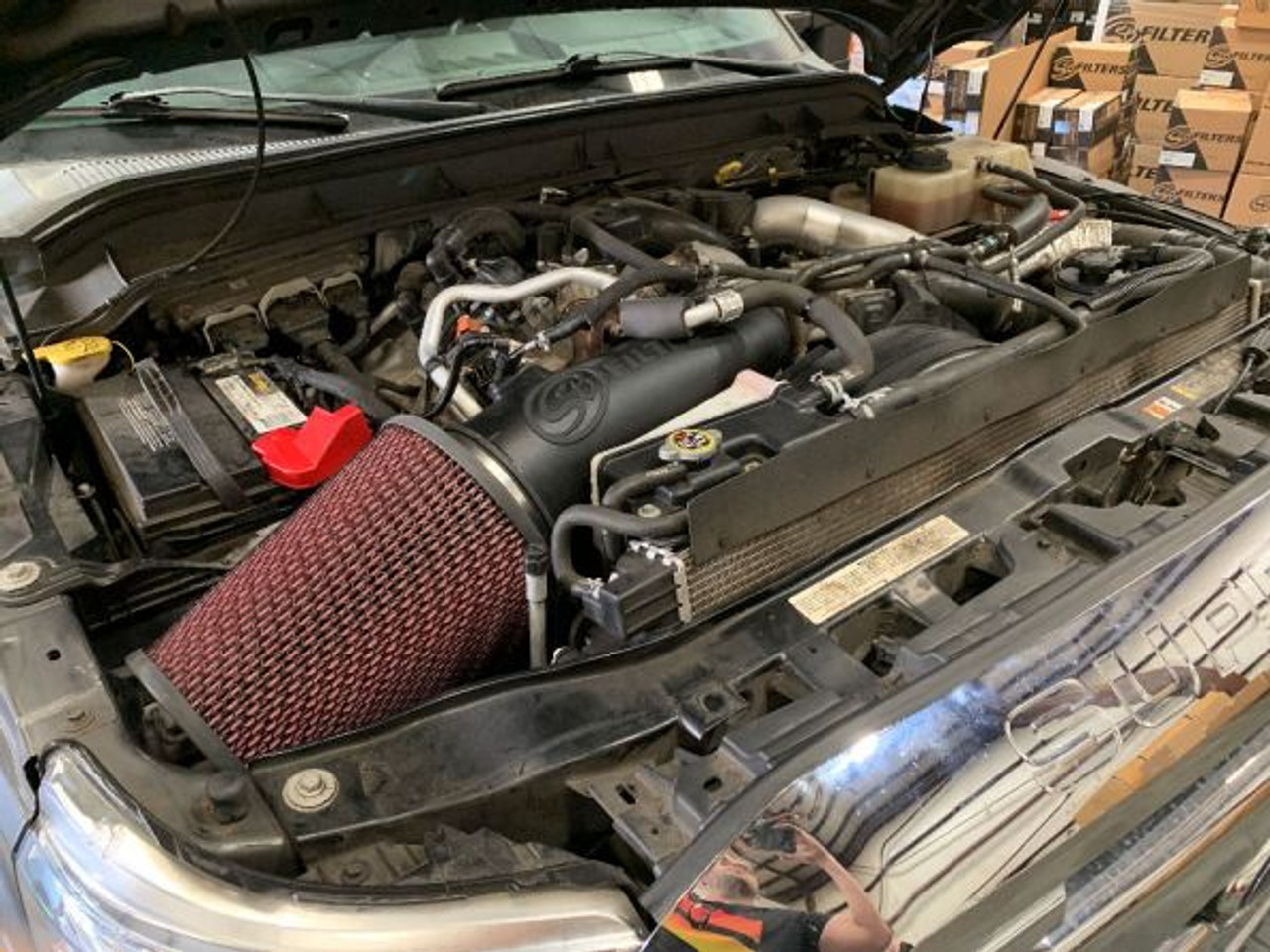 S&B 75-600 Cold Air Intake For 11-16 Ford Powerstroke 6.7L
