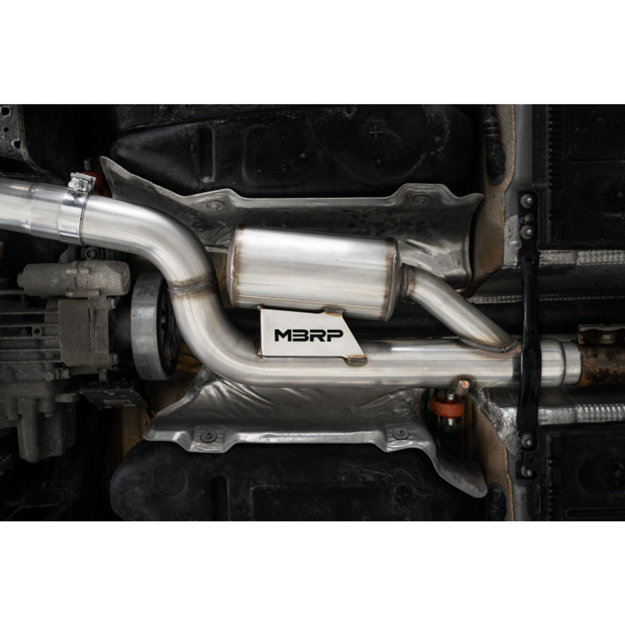 """MBRP Pro Series 3"""" Catback Dual Exhaust W/ CF Tips For 15-18 Audi S3 - S46013CF"""