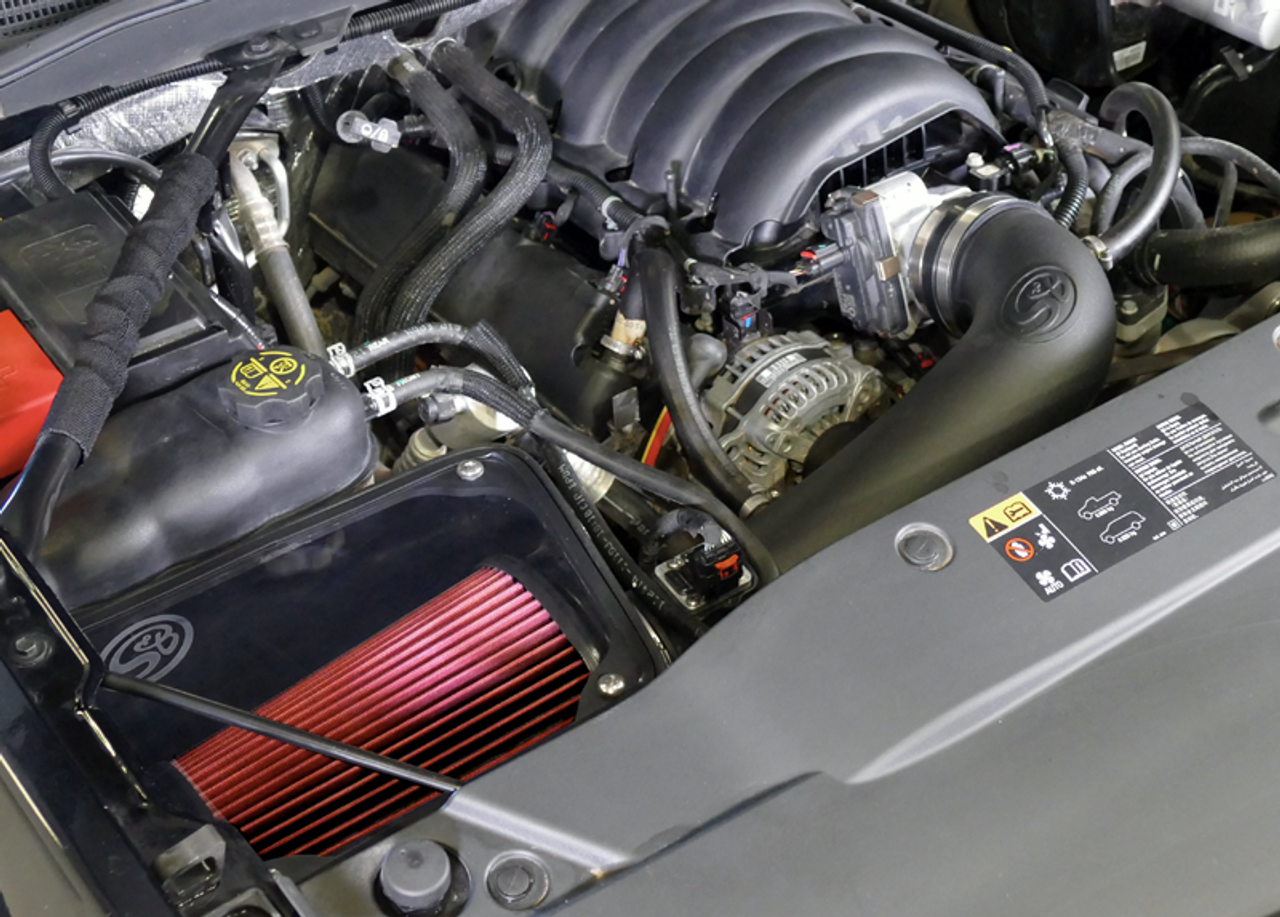 S&B 75-5116 Cold Air Intake For 17-18 Silverado 1500/Sierra 1500