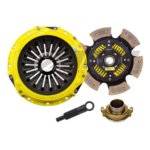 ACT ME3-HDG6 Race Sprung 6 Pad Clutch Kit For 08-15 Mitsubishi Evo X