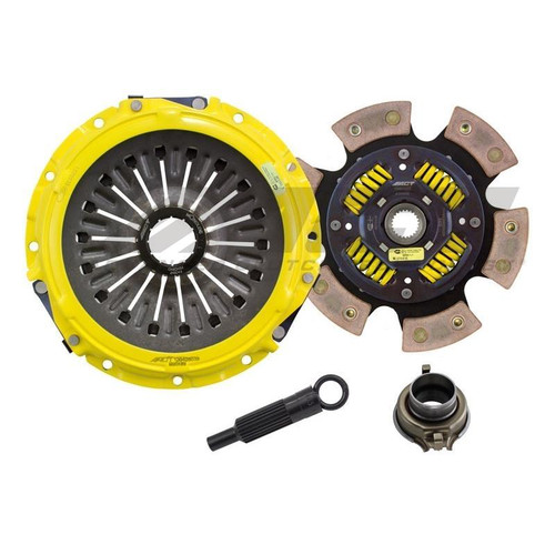 ACT ME2-XTG6 XT-M Race Sprung 6 Pad Clutch Kit For Mitsubishi Evo 8/9