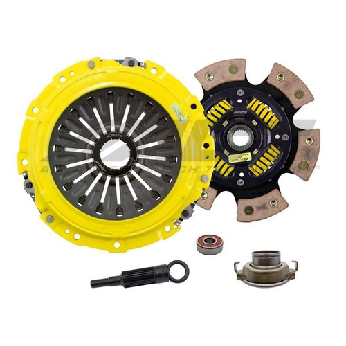 ACT SB10-XTG6 Xtreme Race Sprung 6 Pad Clutch Kit For 04-19 Subaru STI