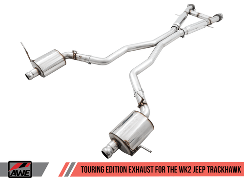 AWE Touring Edition Catback Exhaust For 18-20 Jeep Trackhawk - 3015-31017