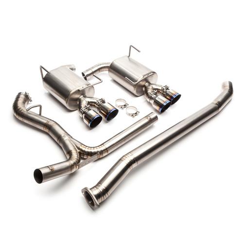 """Cobb Titanium 3"""" Catback Exhaust for 15-19 Subaru WRX/STI (515140)"""