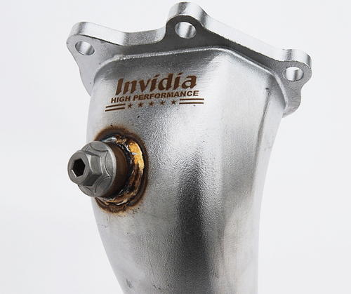 Invidia Divorced Catted Downpipe (2 Bungs) For Subaru 08-14 WRX/08+ STI - HS08SW1DOC