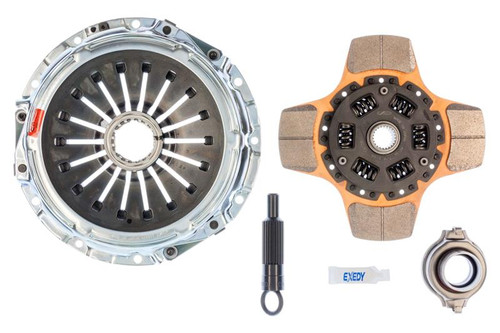 Exedy 05952AHD Racing Stage 2 Cerametallic Clutch Kit For 2008-2015 Mitsubishi Evo X