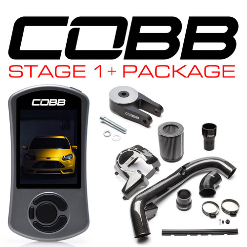 Cobb Stage 1+ Carbon Fiber Power Package For 13-18 Ford Focus ST - FOR001FO1PCF