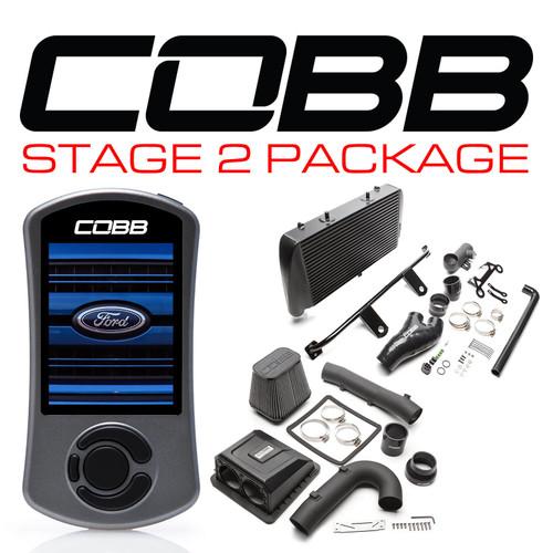 Cobb Stage 2 Power Package Black For 17-20 Ford F-150 Raptor Ecoboost/Limited - FOR0050020BK