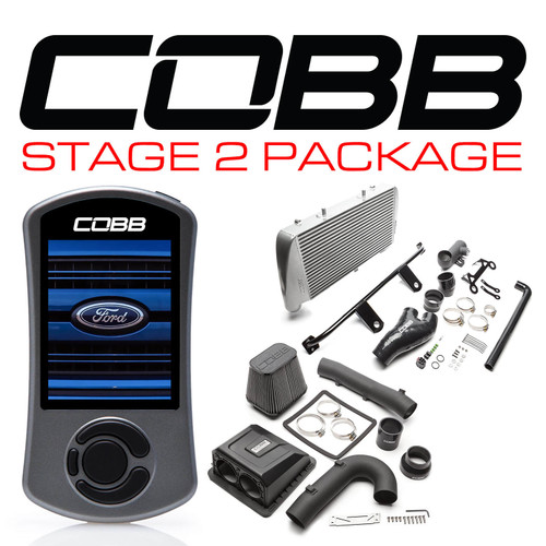 Cobb Stage 2 Power Package Silver For 17-20 Ford F-150 Raptor Ecoboost/Limited - FOR0050020SL