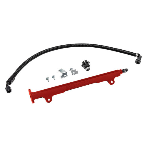 AMS Performance Fuel Rail Kit For 08-15 Mitsubishi Evo X - AMS.04.07.0006-1