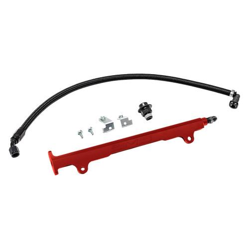 AMS Performance Fuel Rail Kit For 08-15 Mitsubishi Evo X - AMS.04.07.0006-2