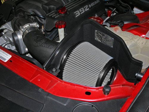 aFe Magnum FORCE Stage-2 Pro Dry S Cold Air Intake For 11-20 Dodge Charger 6.4L HEMI - 51-12172