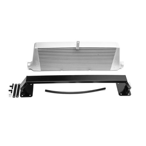 Cobb Front Mount Intercooler Kit (Silver) For 11-14 Subaru STI - 715500-SL