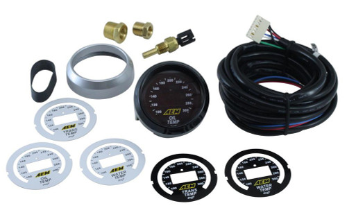 AEM 30-4402 Oil / Transmission / Water Temperature 52MM Digital Gauge