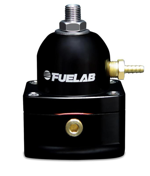 Fuel Lab 51501-1 Fuel Pressure Regulator w/ (2) -10AN Inlet/ (1) -6AN Return