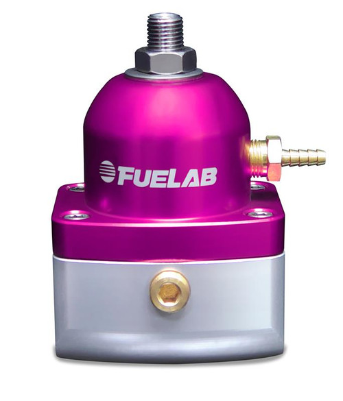 Fuel Lab 51501-4 Fuel Pressure Regulator w/ (2) -10AN Inlet/ (1) -6AN Return